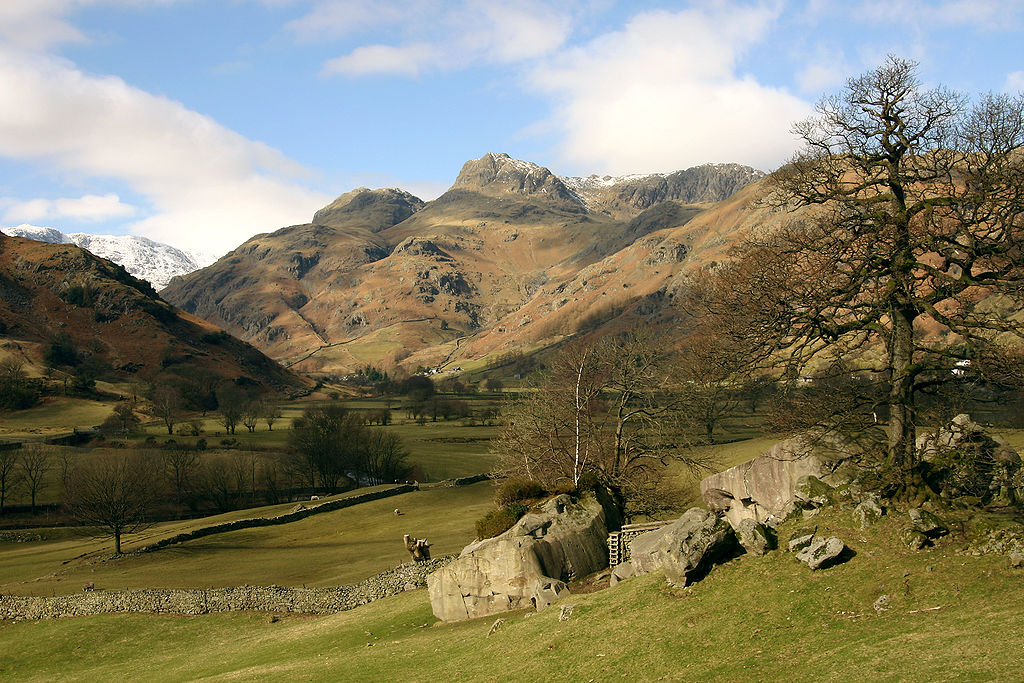 Langdale Pikes (Lake District, England)
