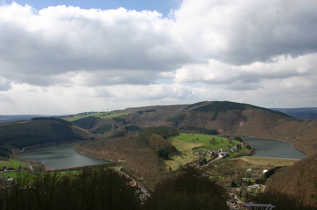 Reservoir at Coo (Ardennes, Belgium)