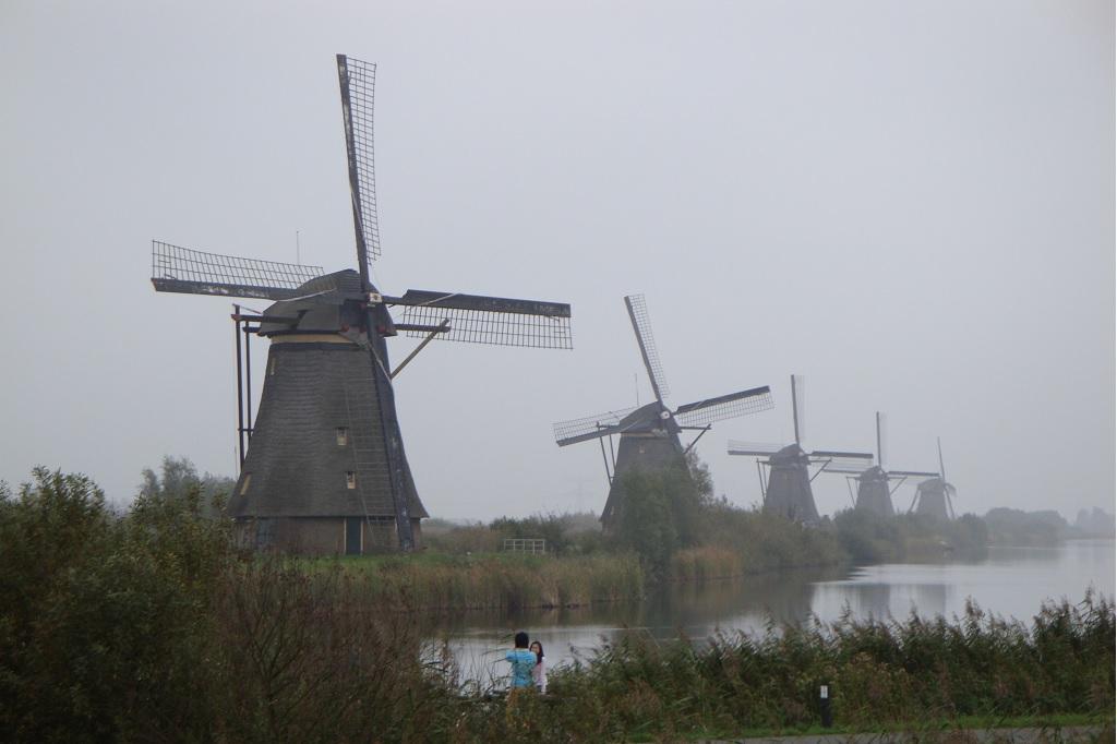 Kinderdijk (the Netherlands)