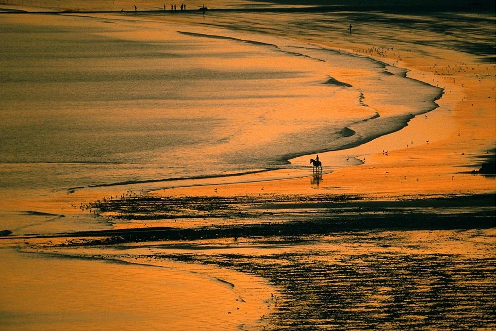 Saint Aubin's Bay (Jersey (Channel Islands)